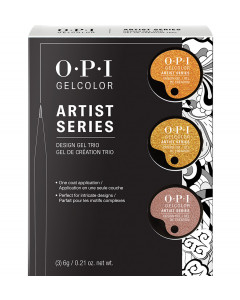 GELCOLOR ARTIST SERIES - 3 PACK METALLICS TRIAL KIT #4