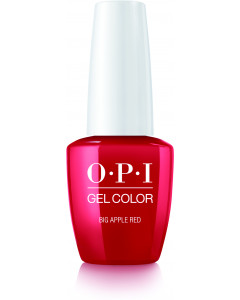 GelColor by OPI - Big Apple Red