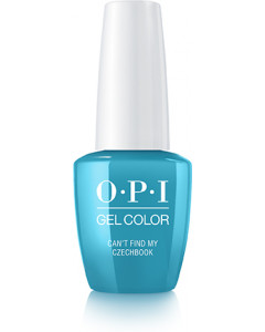 GelColor by OPI - Can't Find My Czechbook
