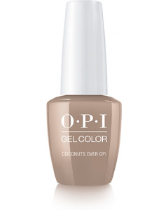 GelColor by OPI - Coconuts Over OPI