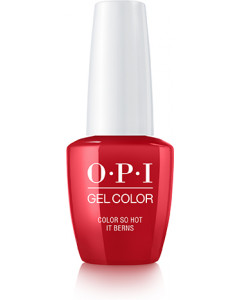 GelColor by OPI - Colour So Hot It Berns