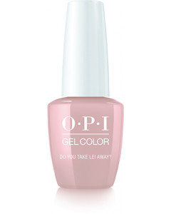 Gelcolor by OPI - Do you take Lei away?