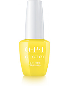 GelColor by OPI - I Just Can't Cope-cabana