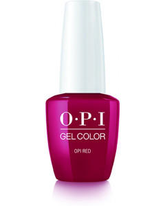 GelColor by OPI - OPI Red
