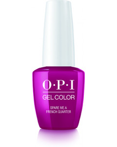 GelColor by OPI - Spare Me A French Quarter