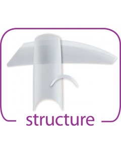 Structure Tips Clear - Size 5