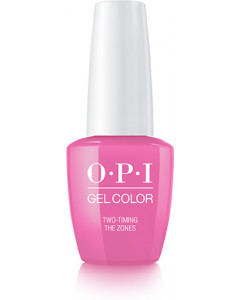 GelColor by OPI - Two Timing the Zones